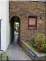 TR1066 : Entrance to Beach Alley, Whitstable, Kent by P L Chadwick