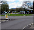 ST3092 : Roundabout in Llantarnam, Cwmbran by Jaggery