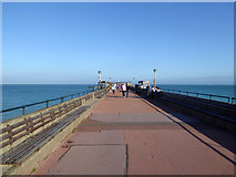 TR3752 : Pier, Deal by Robin Webster