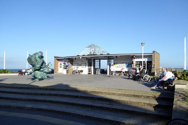Pier entrance, Deal