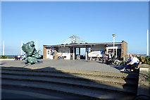 TR3752 : Pier entrance, Deal by Robin Webster