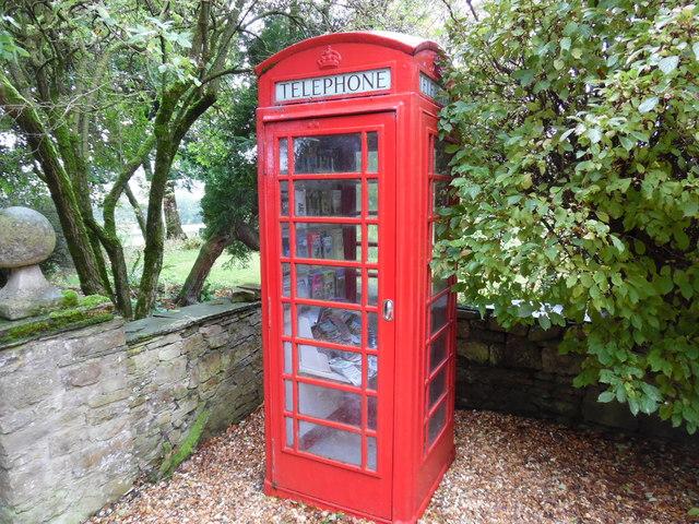 Telephone Box outside Stone House Hotel