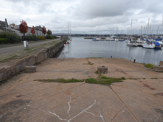 Slipway, Tayport Harbour