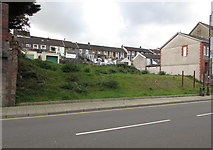 SS9992 : Waste ground, Dunraven Street, Tonypandy by Jaggery