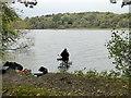 H6501 : Angler of Lough Skeagh Upper by Oliver Dixon