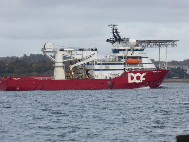 DOF Support Vessel: Skandia Carla
