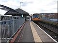 SO0506 : Merthyr Tydfil railway station by Virginia Knight
