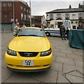 SJ9494 : Ford Mustang CAZ 144 (front view) by Gerald England