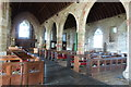 SW7921 : North aisle , St. Keverne Church, in the village of St. Keverne, Cornwall by Derek Voller