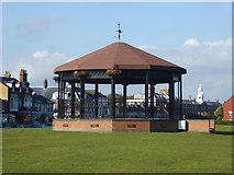 TR3751 : Memorial bandstand, Walmer Green by Robin Webster
