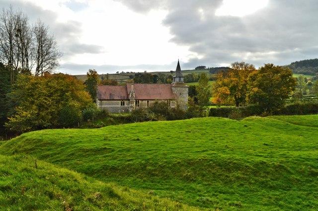 Castle and church, Lingen