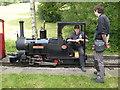 SJ9459 : Rudyard and Leek Railway - taking a breather by Chris Allen