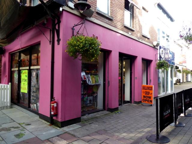 Halloween Pop-up shop, Main Street, Omagh