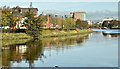 J3472 : The River Lagan, Belfast (October 2017) by Albert Bridge