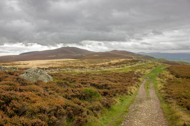 Offa's Dyke Path towards Moel Famau