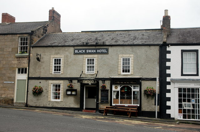The Black Swan Hotel, Belford