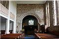 NU1034 : Chancel arch, St Mary's church, Belford by Bill Harrison