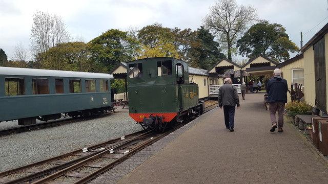 Railway at Llanfair