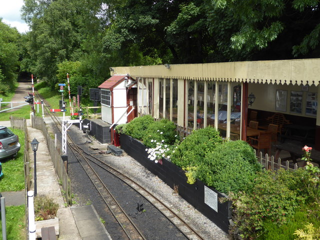 Rudyard and Leek Railway - Rudyard Station