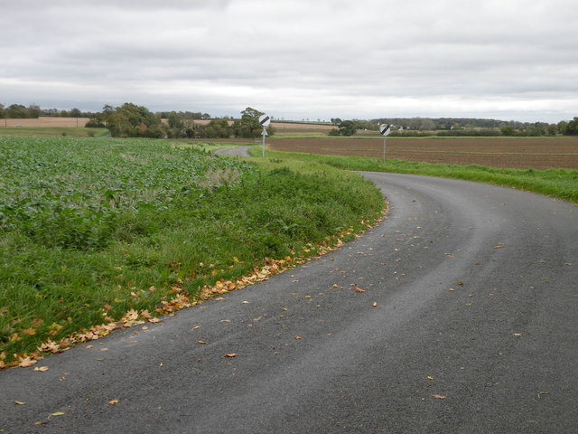 The road to Nosterfield End