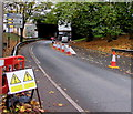 ST3188 : From two lanes to one, Malpas Road, Crindau, Newport by Jaggery