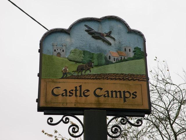 Castle Camps village sign