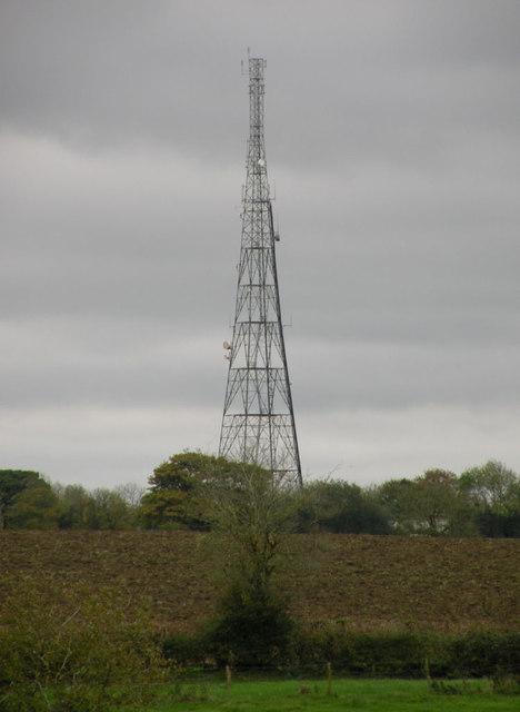 Little Biggin radio mast