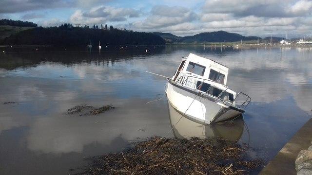 Kippford Boat