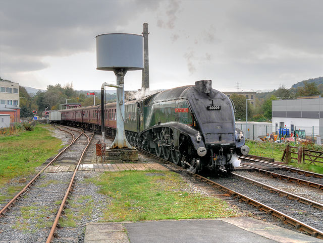 Union of South Africa Arriving at Rawtenstall