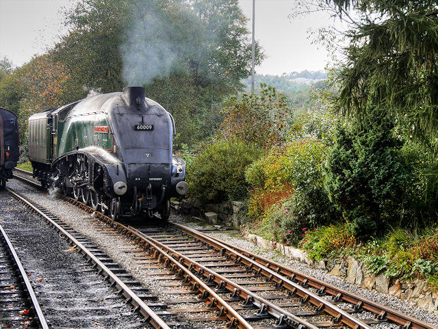 60009, Union of South Africa, at Rawtenstall