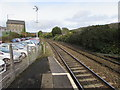 ST0889 : Railway north of Treforest railway station by Jaggery