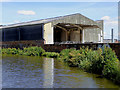 SJ8846 : Industrial building south of Hanley, Stoke-on-Trent by Roger  Kidd