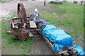 SK2999 : Wortley Top Forge - engine being re-erected by Chris Allen