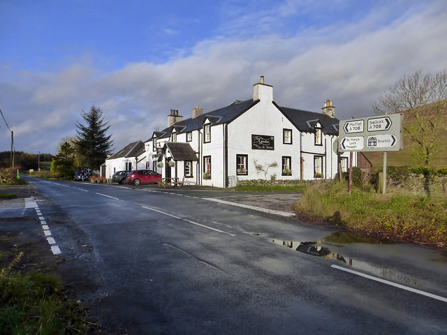 The Gordon Arms Hotel in the Yarrow Valley