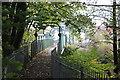 ST2688 : Footbridge over River Ebbw, Rogerstone by M J Roscoe