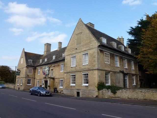 The Haycock on the old Great North Road in Wansford