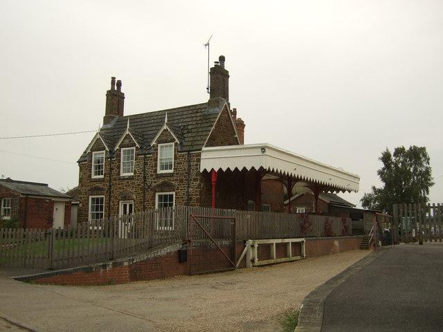 Former railway station house in Dersingham