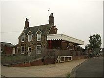 TF6830 : Former railway station house in Dersingham by JThomas
