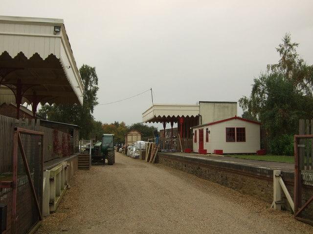 Former railway station in Dersingham