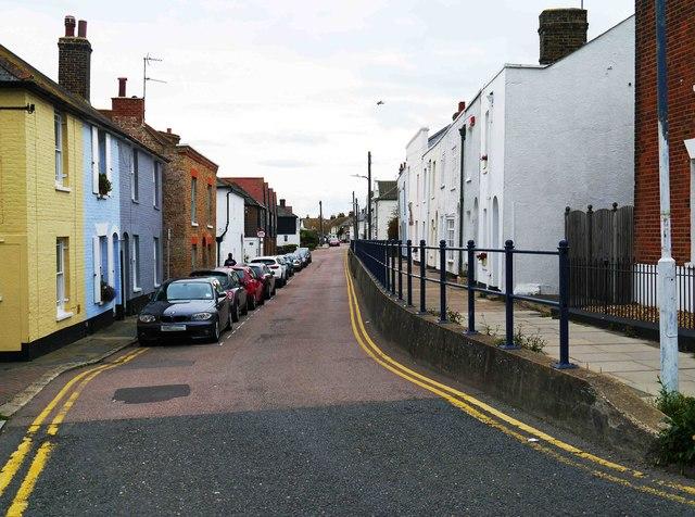 Island Wall, Whitstable, Kent