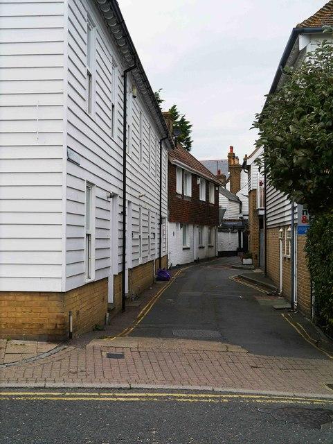 Cushing's Walk, Whitstable, Kent