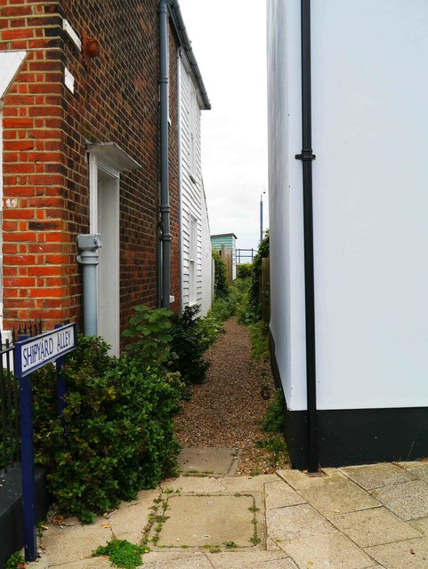 Shipyard Alley, Whitstable, Kent