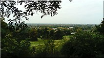 TQ1873 : View of the west from King Henry's Mound in Richmond Park by Robert Lamb