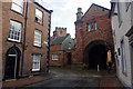 NY3955 : Junction of Abbey Street and Paternoster Row, Carlisle by Ian Taylor