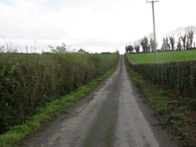 Road (L5312) to Mantlehill from N74