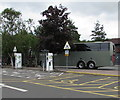 ST5175 : Ecotricity recharging area, Gordano Services, Portbury, North Somerset by Jaggery
