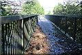 ST2489 : Footbridge over A467, Pontymister by M J Roscoe