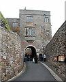 NU1835 : Inner gateway, Bamburgh Castle by Bill Harrison