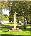 NZ1716 : Jubilee cross, Gainford by Gordon Hatton