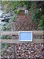 NY7963 : Path closure at Allenbanks by Oliver Dixon
